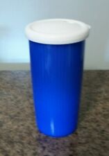 TUPPERWARE Insulated Tumbler 24 oz Travel Cup With Lid - 3329A Blue