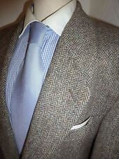 MENS 42 R HARRIS TWEED NEW WOOL SUIT JACKET HACKING COUNTRY SPORTS BLAZER COAT