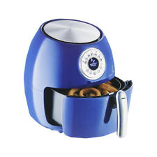 "Emeril 1700W 5.3-qt Digital LED Control Air Fryer with 7"" Cake Pan - Blue"