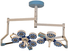 ORTHOPADIC OPERATING THEATRE LED LIGHT DOUBLE DOME 8REFLECTOR 205000LUX CEILING