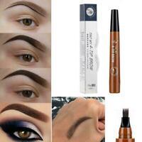 Fashion 4 Head Fork Tip Eyebrow Tattoo Pen Liquid Brow Tint-Pencil Dye N4A3