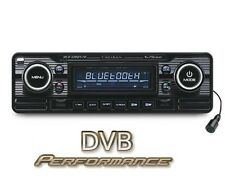 Caliber RCD120BT/B Retro Style BLACK Car CD Player Bluetooth FM USB SD Aux In