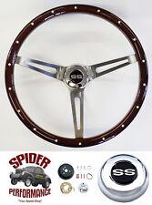 "1967 Camaro steering wheel SS 15"" MUSCLE CAR MAHOGANY Foreversharp"