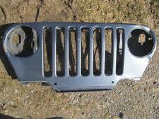 Jeep Wrangler TJ  Grille   Garage Wall Art  steel blue