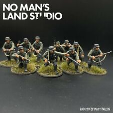 Painted 28mm German Blitzkrieg infantry squad Warlord Games Bolt Action WW2