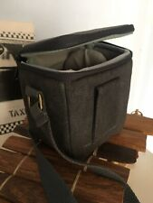 Small portable Bag for camera or lens in gray