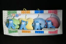 Olympics 2010 Shanghai EXPO China Suction Cup Plush Toy Doll Mascots Set of 4