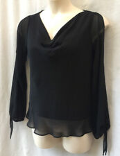 5ad74cb186e5c Top Size 12 Black Ellen Tracy Blouse Long Sleeve Evening Occasion Party  Event