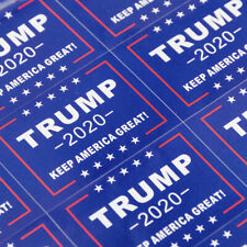 32PCS Blue Donald Trump Face Clothes Body Sticker For Keep Make America Great