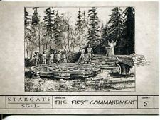 Stargate SG1 Season 9 Production Sketches Chase Card S5