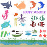 HAPPY SUMMER HOLIDAY Cutting Dies Stencil for DIY Scrapbooking Album Paper Craft