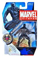 "BLACK PANTHER ( 4"") HTF ( 2008 ) MARVEL UNIVERSE ( SERIES 1 ) ACTION FIGURE #005"