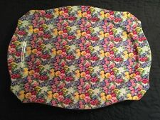 """ROYAL WINTON BEAUTIFUL""""JULIA"""" HUGE Platter Tray 18.5 x 14 EXCELLENT CONDITION"""