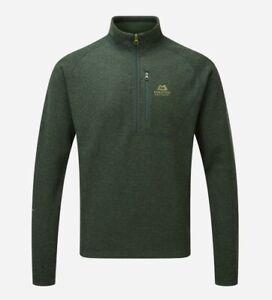 Mountain Equipment Kore Zip T Men Lightweight Fleece Pullover for Men Conifer