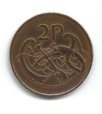 Eire 2p 1971 Book of Kells Coin