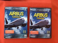AIRBUS COLLECTION ADD-ON FLIGHT SIMULATOR X 10 MICROSOFT PC CD-ROM PAL COMPLET