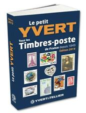 YVERT & TELLIER 2019  STAMPS  SMALL CATALOG FRANCE AND LAST SHEETLET - SOLD OUT