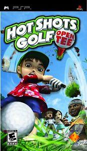 PSP Video Game Hot Shots Golf Open Tee