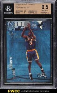 1998 Skybox Thunder Rave Kobe Bryant /150 #108 BGS 9.5 GEM MINT