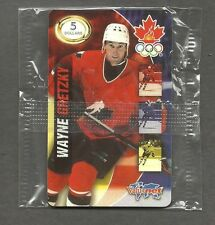 1998 Team Canada Olympic Five Dollar Phone Card, Wayne Gretzky (mint & sealed)