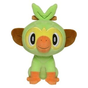 Official Pokemon Sword and Shield Grookey 8 Inch Plush Soft Toy Teddy