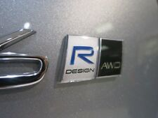 GENUINE VOLVO R-DESIGN BADGE EMBLEM