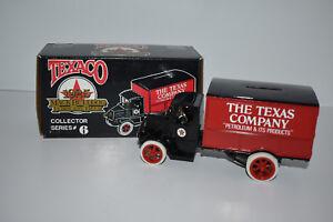 ERTL 1925 Texaco Mack Bulldog Lubricant Truck Die-Cast Bank - NIB