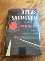 "Ayn Rand ""Atlas Shrugged"" First Edition First Printing 1st/1st with Dust Jacket!"