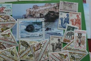 (714) Mauretanien-Paket mit Blöcken und interessanten Marken