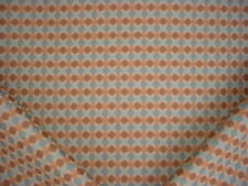 2-7/8Y KRAVET SMART 30677 BLUE BROWN CIRCLE GEOMETRIC UPHOLSTERY FABRIC