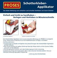 HS Proses PBS-Fix-05  Schotterkleber-Applikator mit Spritze Spur TT