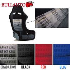 Gradation BRIDE Seat Cover Fabric Decorate Cloth For RECARO/BRIDE/SPARCO 1mx1.6m