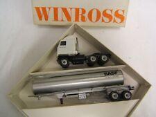 Winross BASF Tanker Truck Mack Ultraliner Chrome Tanker 1/64 scale MIB