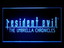 J622B Resident Evil The Umbrella For Man Cave Game Room Display Light Sign