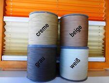 Schnur - Spannschnur für Plissee Rollo Jalousette 0,9 mm 4 Farben 3 Längen neu
