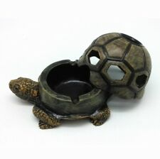 Turtle Ashtrays Cigarettes With Lid,For Outdoor,Indoor,Home,Offic e