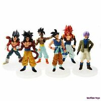 Dragonball Z Dragon ball DBZ Goku Piccolo Action Figure Toy Set of 6pcs