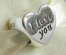 Genuine Pandora I Love You Charm 791422