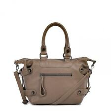 Linea Pelle Dylan Icon Satchel Bag in Birch Leather