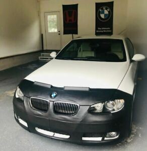 Colgan Front End Mask Bra 2pc.Fits BMW 328i 3325i coupe 2007-10 W/O Tag W/O Wash
