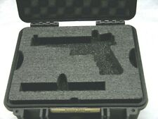 New ArmourCase 1400 case includes precut pistol foam fits Glock 17L +nameplate