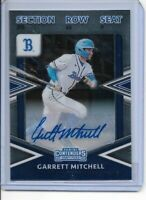 2020 Panini Contenders Garrett Mitchell Rookie Autograph Milwaukee Brewers 1stRD
