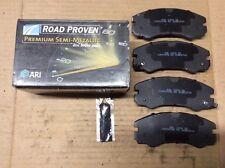New ARI Roadproven 62-D579 Premium Semi-Metallic Disc Brake Pad Pads