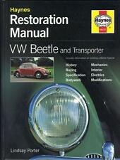 VW BEETLE,TRANSPORTER,CAMPER,BUS,TYPE 2,T2 HAYNES RESTORATION MANUAL 1945-1979