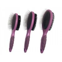Dog Puppy Grooming Double Sided Brush