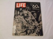 CR) Life Magazine Special Double Issue The 60s Beatles Kennedy