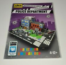 Interactive 3D Puzzle Game to Create Your Own Cartoon w/App - Police Department