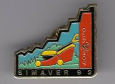 RARE PINS PIN'S .. AGRICULTURE TRACTEUR TRACTOR BTP WOLF TONDEUSE SIMAVER 92 ~D5