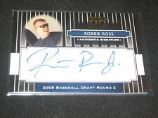 ROBBIE ROSS SIGNED AUTOGRAPHED RAZOR CERTIFIED AUTHENTIC BASEBALL CARD /199