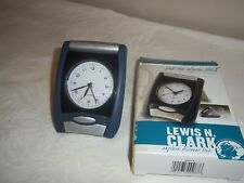 Lewis N Clark Pup-Up Travel Alarm Clock Nib